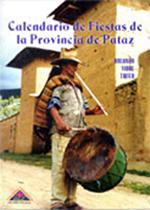 Book Cover: Calendario de fiestas de la provincia de Pataz