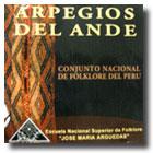 Book Cover: ARPEGIOS DEL ANDE