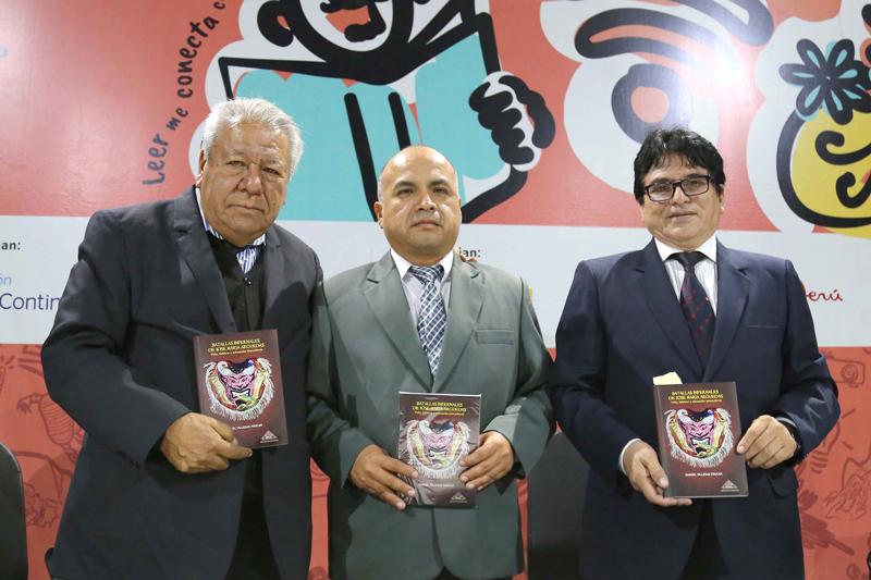 """""""BATALLAS INFERNALES DE ARGUEDAS"""" SE PRESENTÓ EN LA FIL-LIMA"""