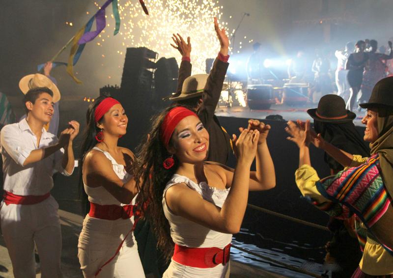 """FESTIVAL INTERNACIONAL DE DANZAS """"ARGUEDAS PARA EL MUNDO"""""""