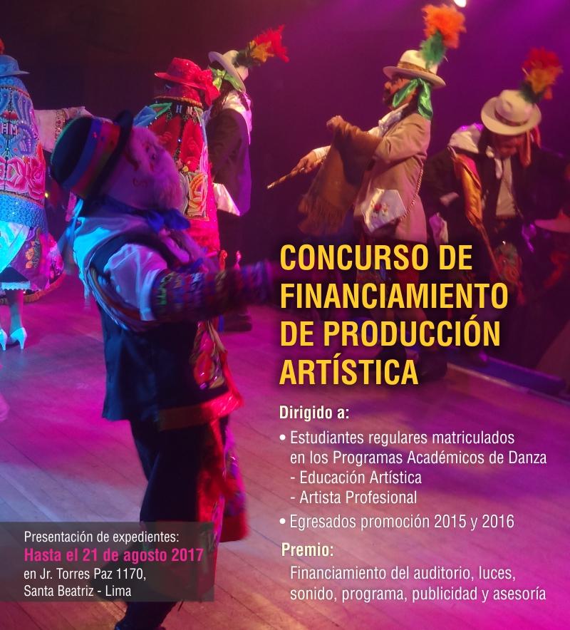 CONCURSO DE PRODUCCIÓN ARTÍSTICA