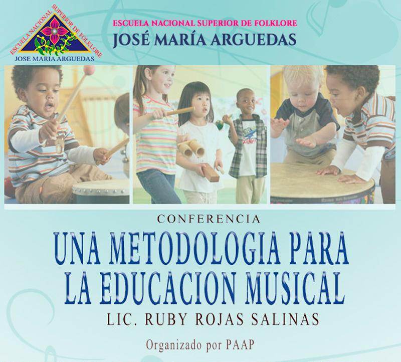 Una Metodología para la Educación Musical