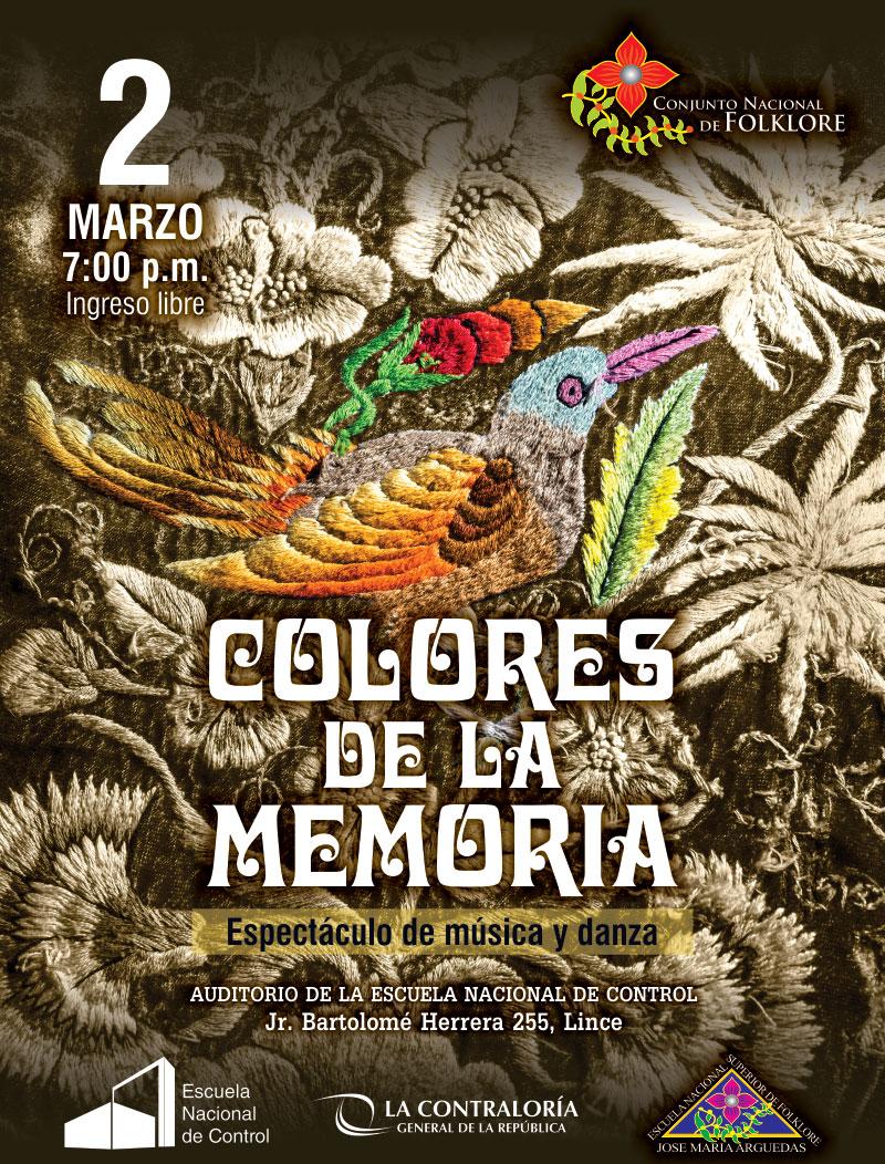 COLORES DE LA MEMORIA