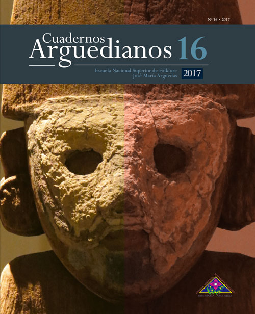 Book Cover: Cuadernos Arguedianos N° 16 (2017)