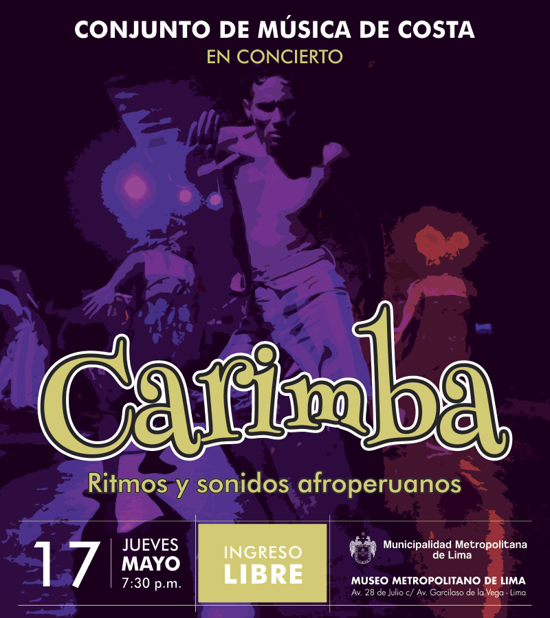 CONJUNTO DE MÚSICA DE COSTA – CARIMBA