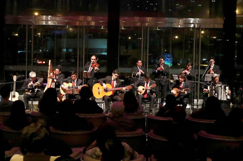 Conjunto Andino Amazónico brindó exitoso concierto en el Foyer del Teatro Nacional