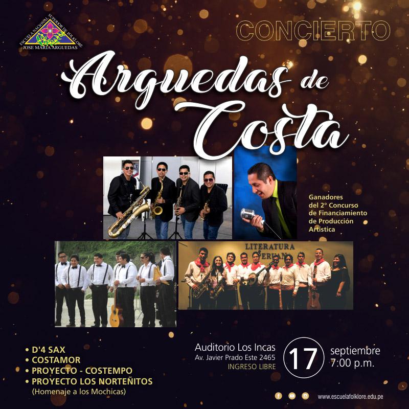 """Concierto """"Arguedas de Costa"""""""