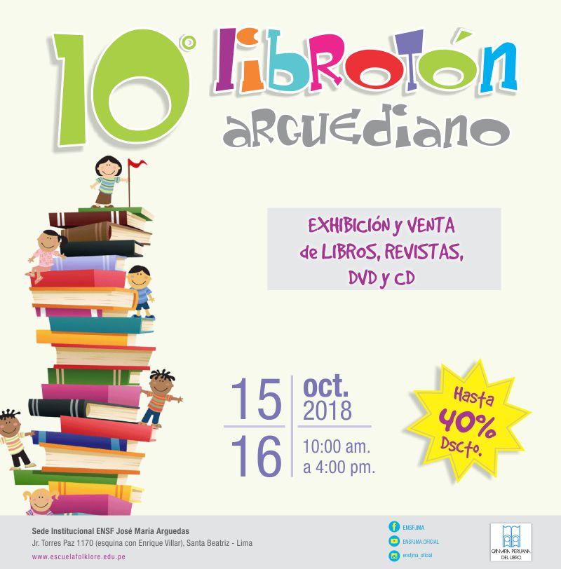 10° Librotón Arguediano