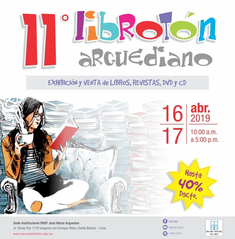 11° Librotón Arguediano