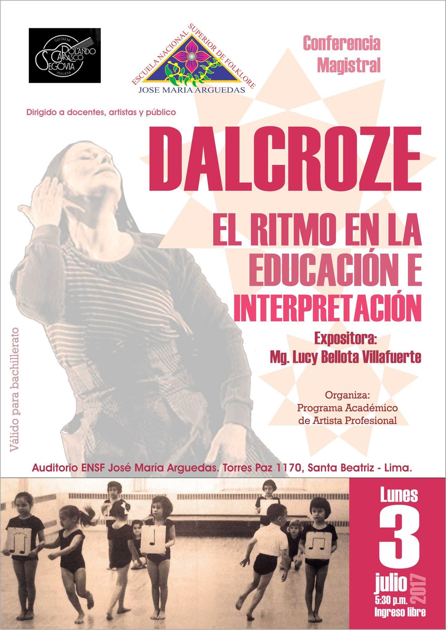 DALCROZE – El ritmo en la educación e interpretación
