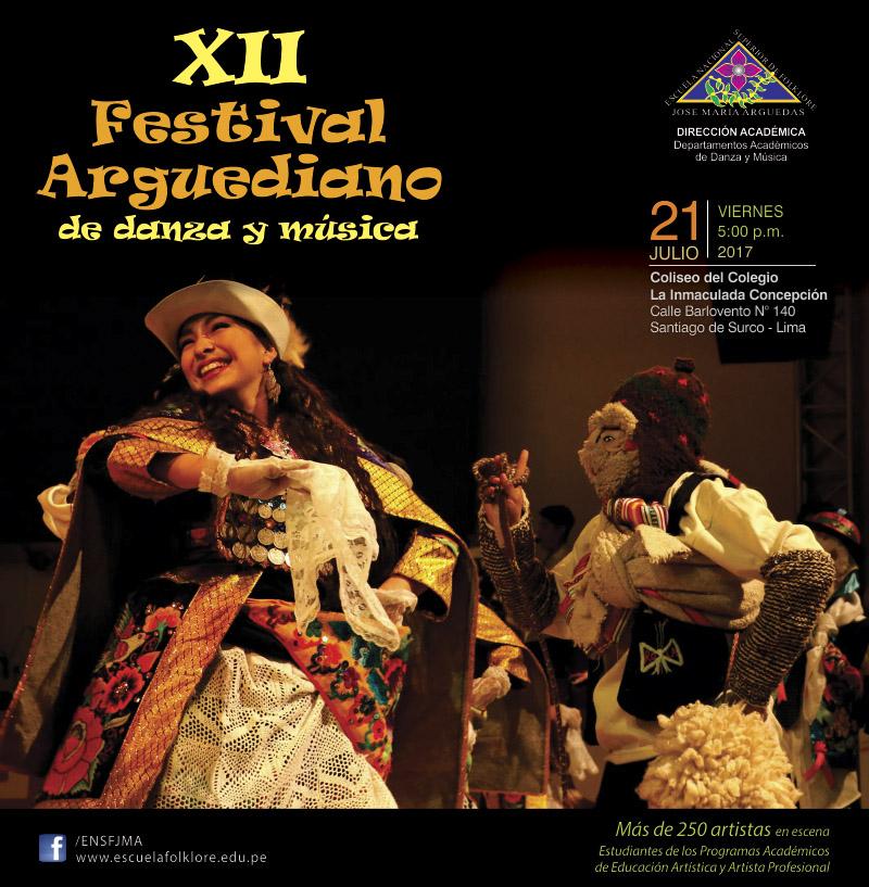 XII Festival Arguediano de danza y música