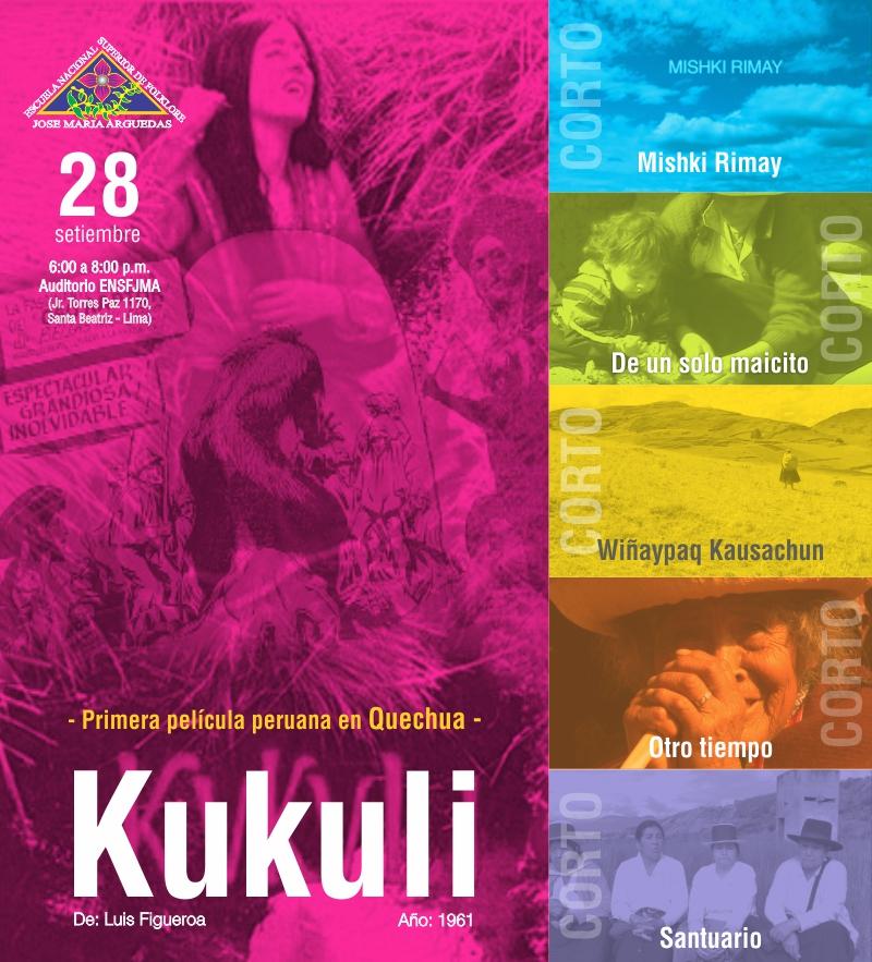 Ciclo de Cine: Voces en Quechua