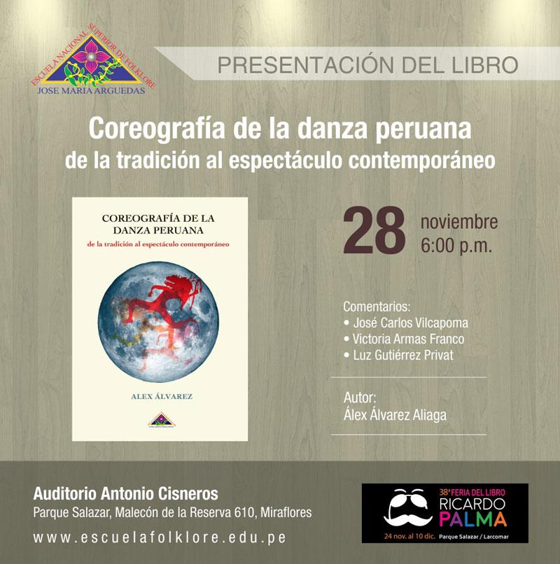 Presentación de libro – Coreografía de la danza peruana