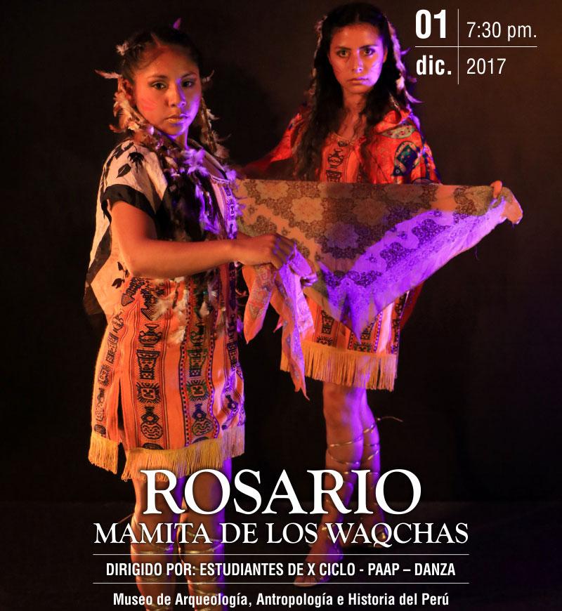 ROSARIO – MAMITA DE LOS WAQCHAS