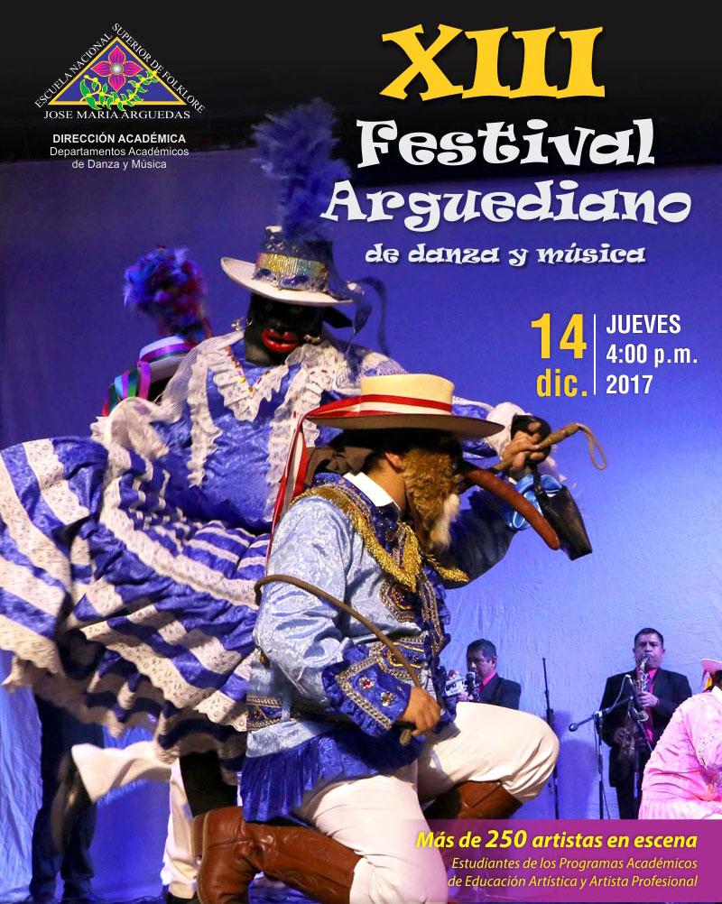 XIII Festival Arguediano de danza y música