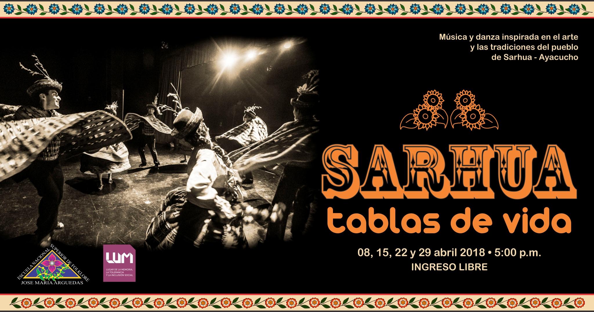 SARHUA. TABLAS DE VIDA