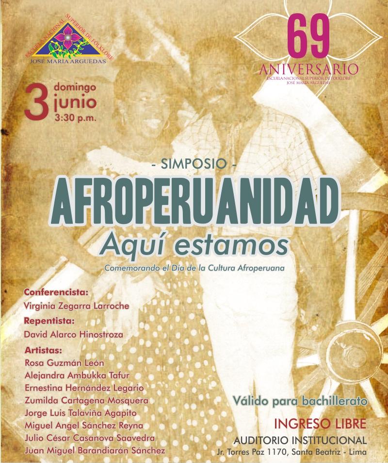 SIMPOSIO: AFROPERUANIDAD