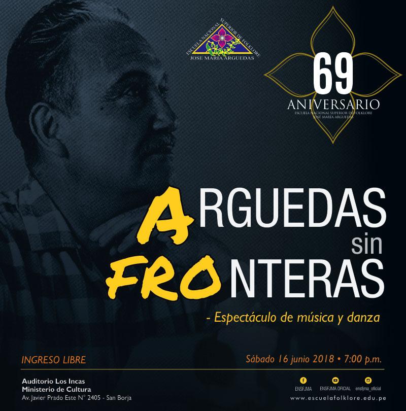 ARGUEDAS SIN FRONTERAS