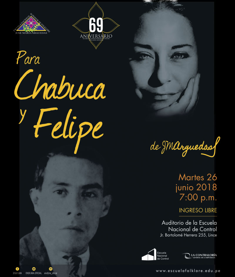 Para Chabuca y Felipe… de Arguedas
