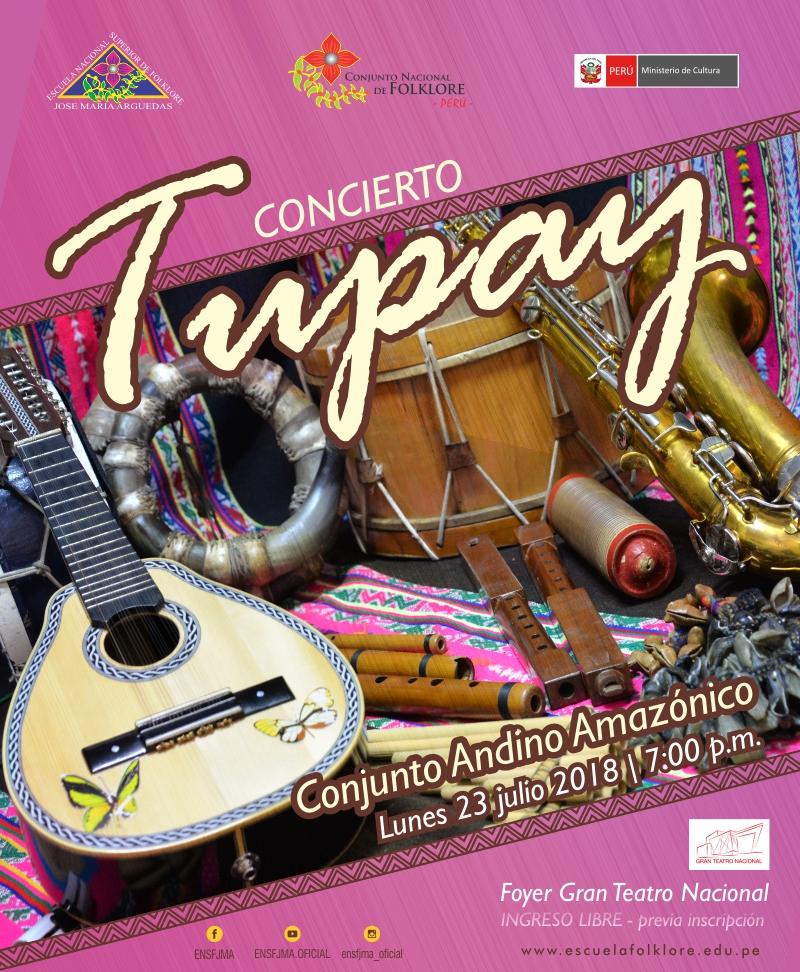 CONCIERTO TUPAY