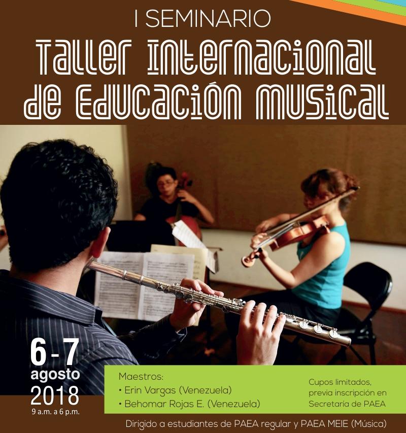 I Seminario Taller Internacional  de Educación Musical
