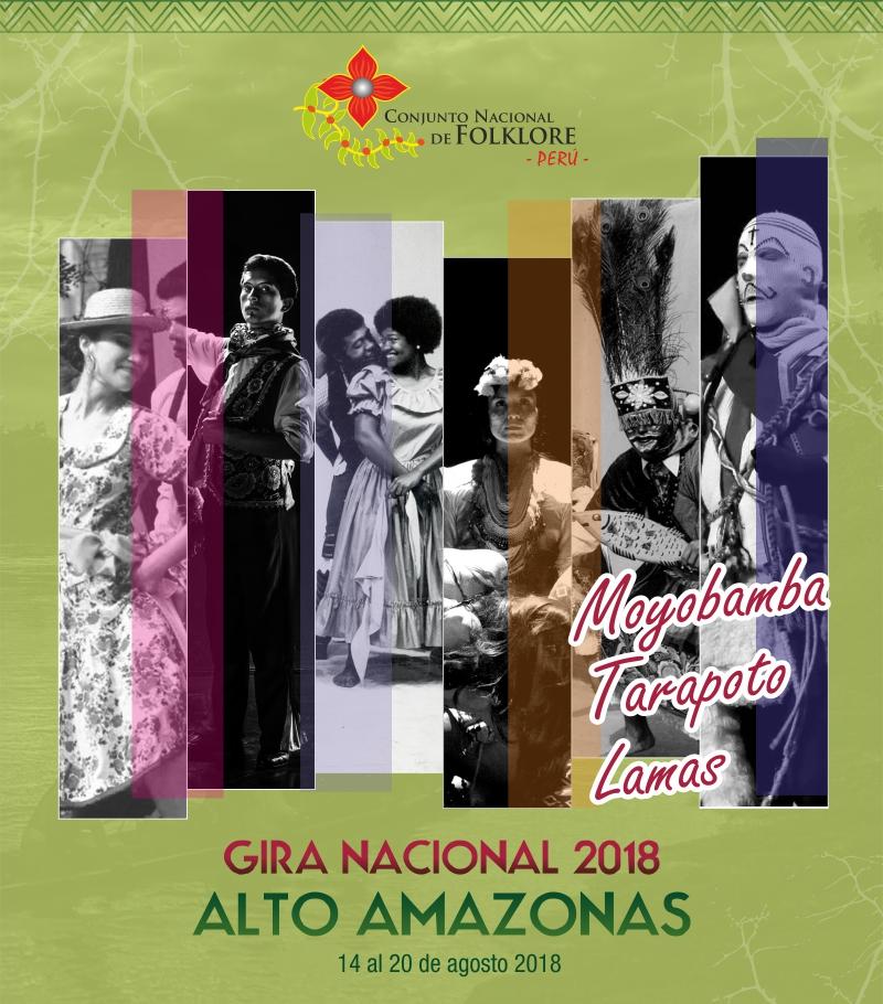 CONJUNTO NACIONAL DE FOLKLORE DE GIRA POR LA AMAZONÍA