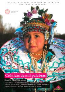 Book Cover: Crónicas de mil palabras. Región Lima Volumen I (2018)