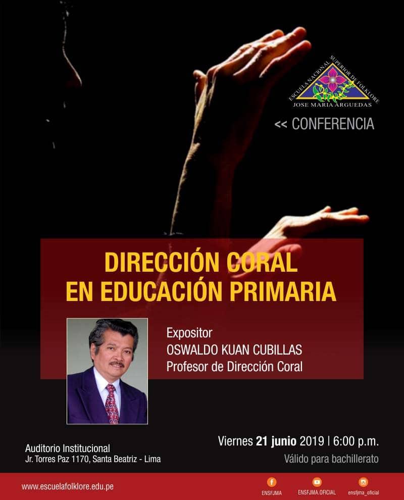 DIRECCIÓN CORAL EN EDUCACIÓN PRIMARIA
