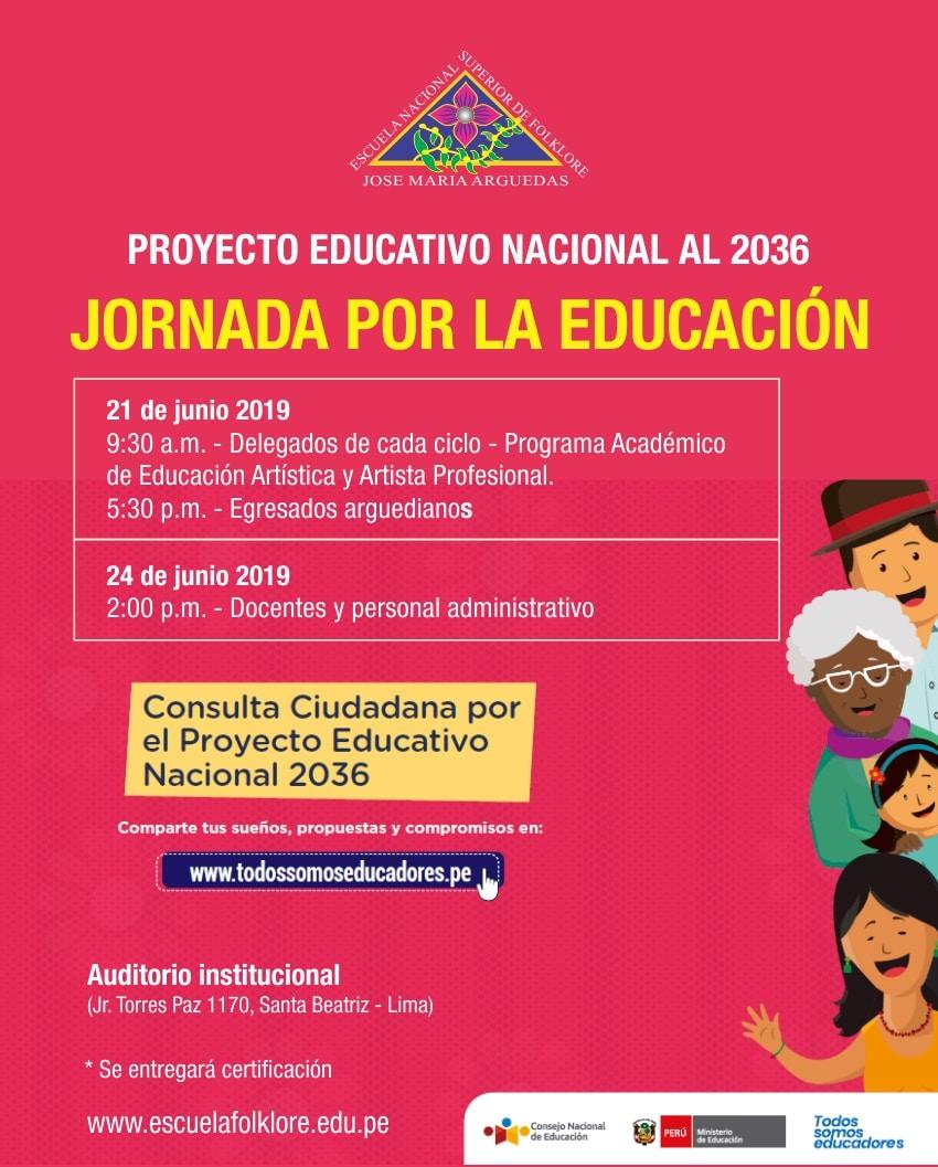 JORNADA POR LA EDUCACIÓN