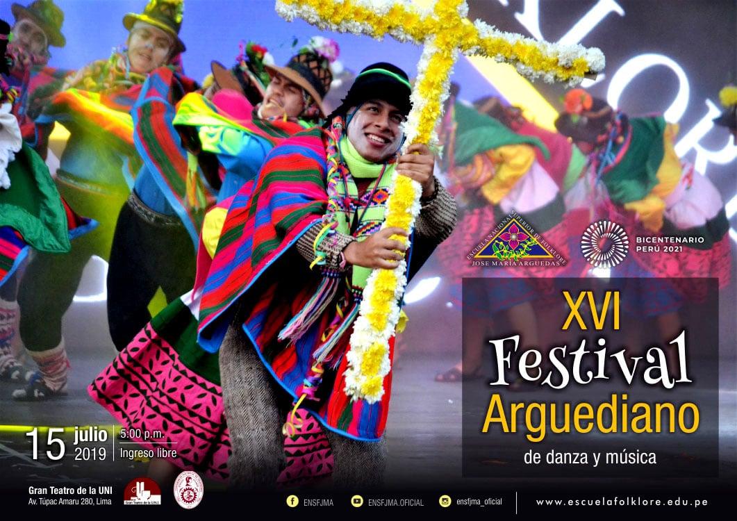 XVI FESTIVAL ARGUEDIANO DE DANZA Y MÚSICA