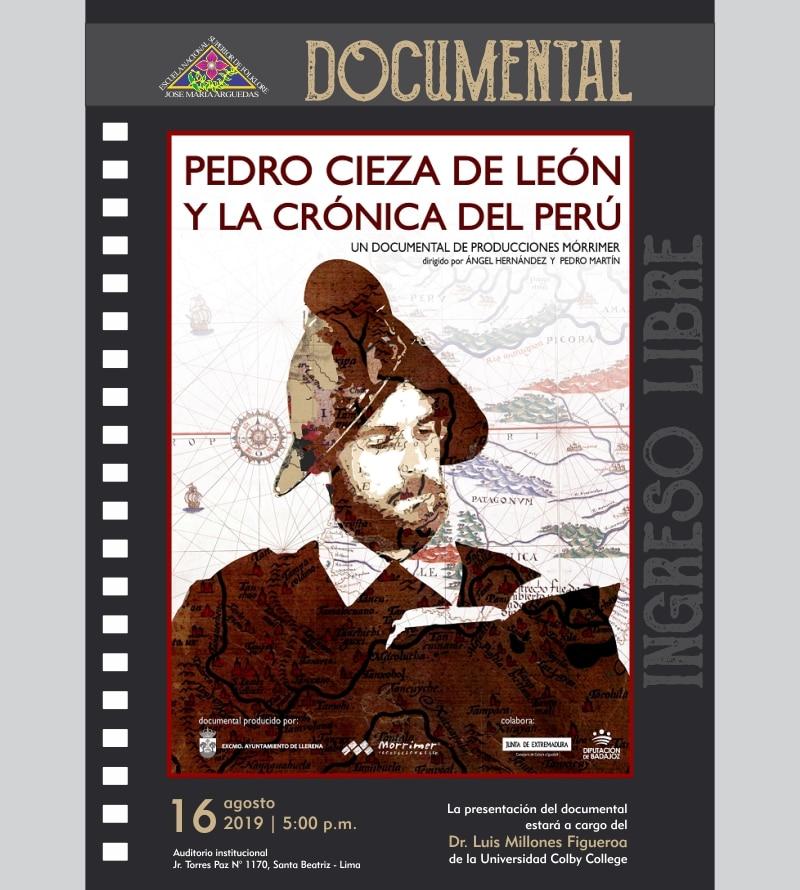 DOCUMENTAL PEDRO CIEZA DE LEÓN Y LA CRÓNICA DEL PERÚ