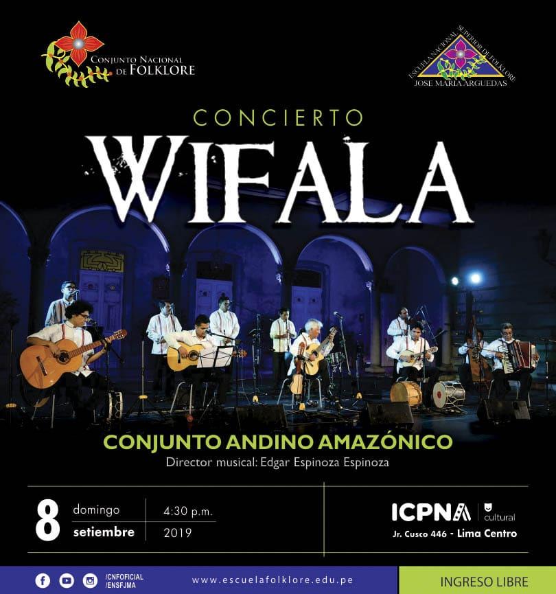 """CONJUNTO ANDINO AMAZÓNICO EN CONCIERTO """"WIFALA"""""""