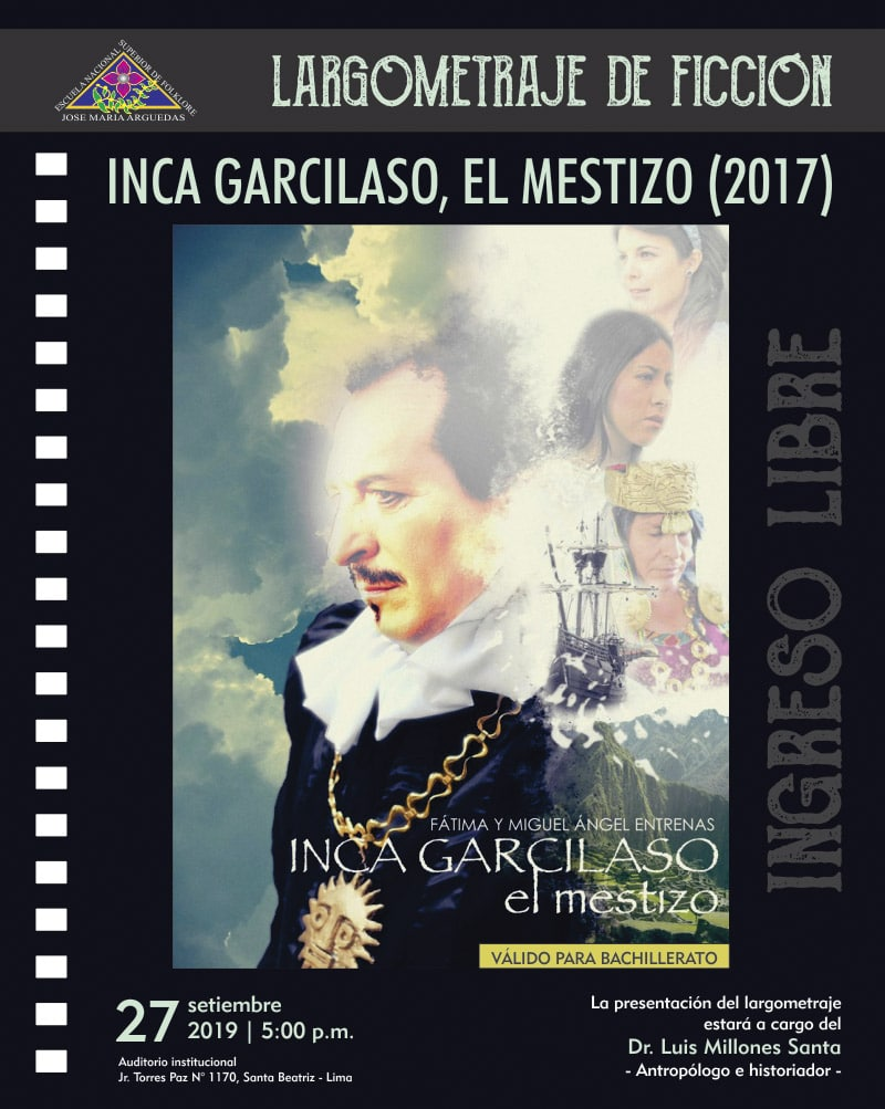 INCA GARCILASO, EL MESTIZO (2017)