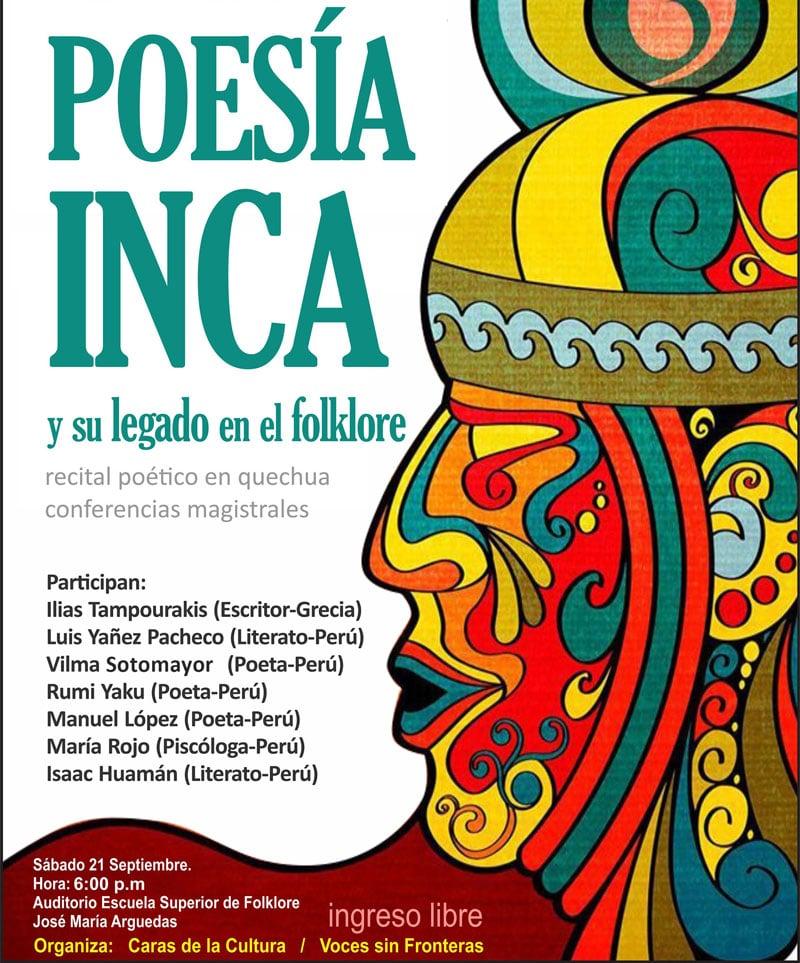 Conferencia Poesía Inca y su legado en el folklore
