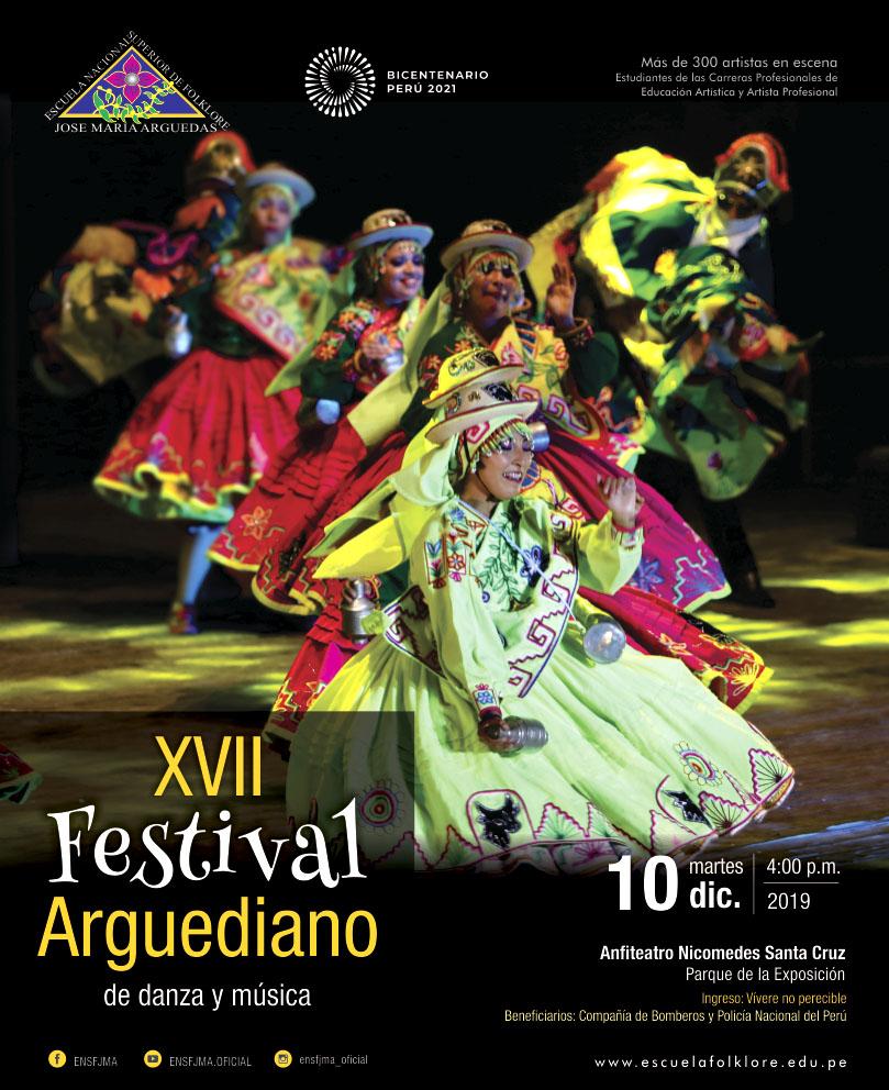 XVII FESTIVAL ARGUEDIANO