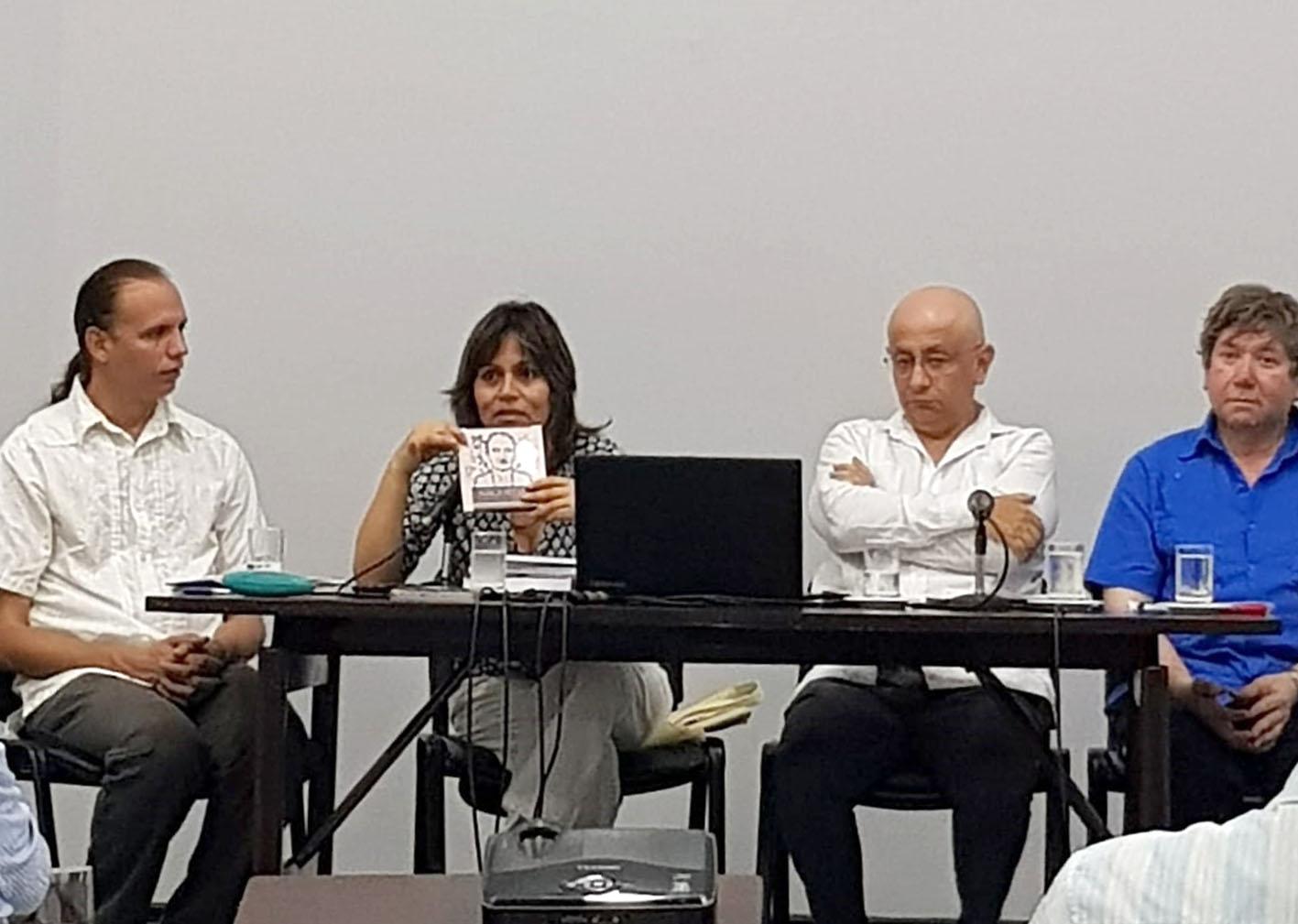 ENSF JOSÉ MARÍA ARGUEDAS PRESENTE EN LA CASA DE LAS AMÉRICAS