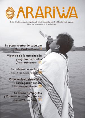 Book Cover: Arariwa 20