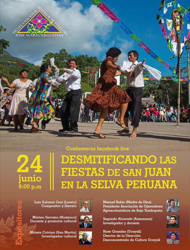 DESMITIFICANDO LA FIESTA DE SAN JUAN EN LA SELVA PERUANA