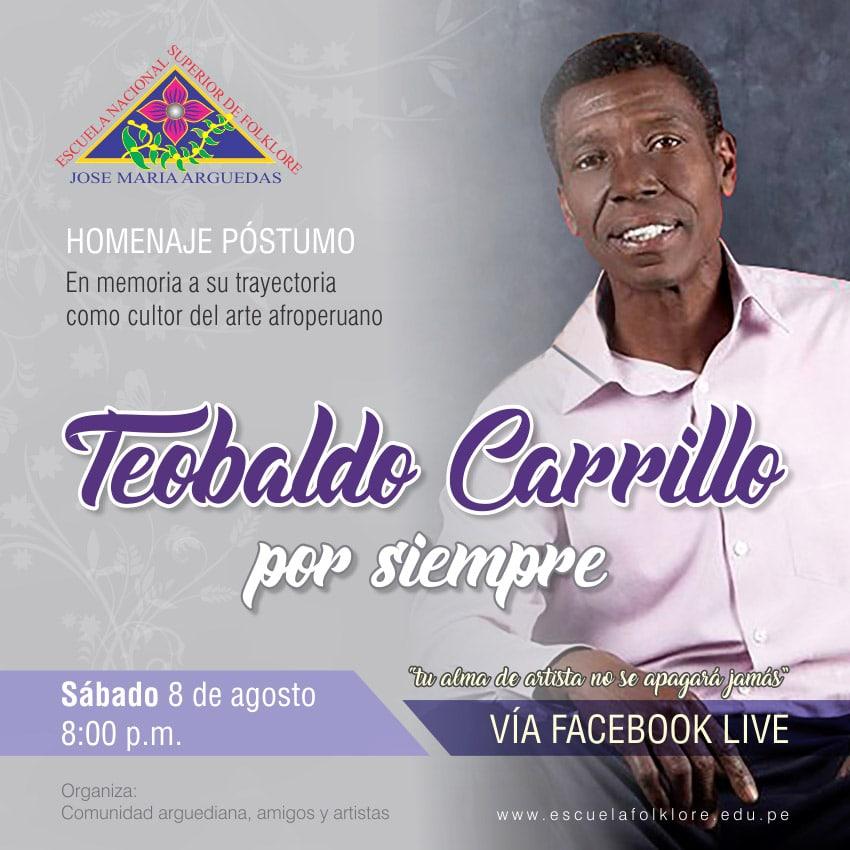 HOMENAJE AL MAESTRO TEOBALDO CARRILLO