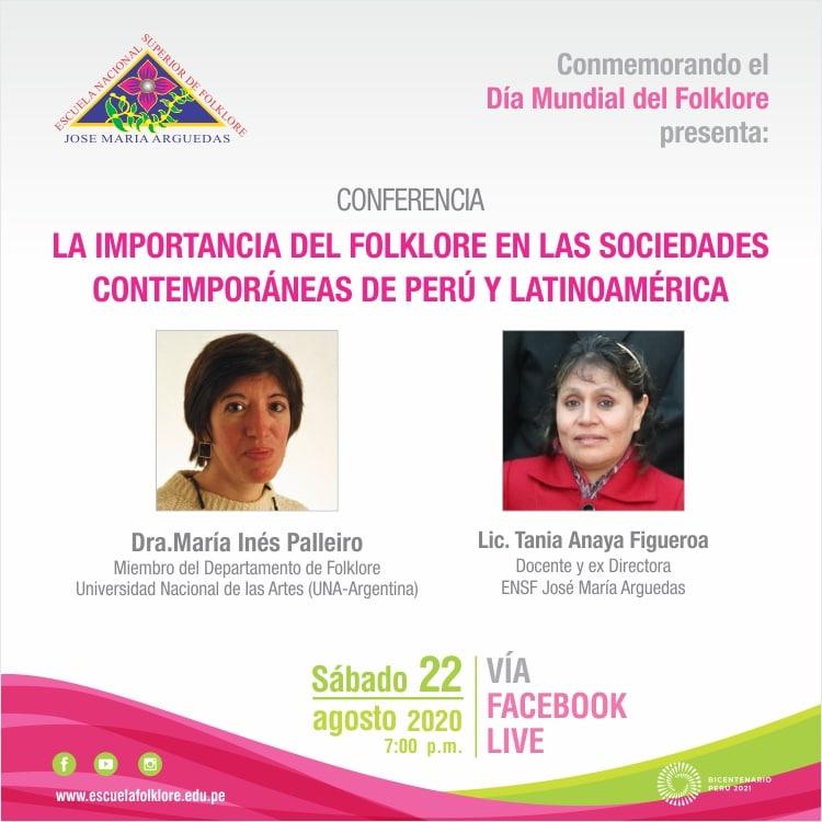 IMPORTANCIA DEL FOLKLORE EN EL PERÚ Y LATINOAMÉRICA