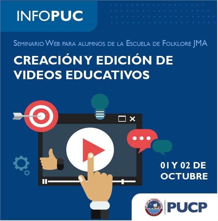 TALLER DE CREACIÓN DE VIDEOS PARA LOS ESTUDIANTES ARGUEDIANOS