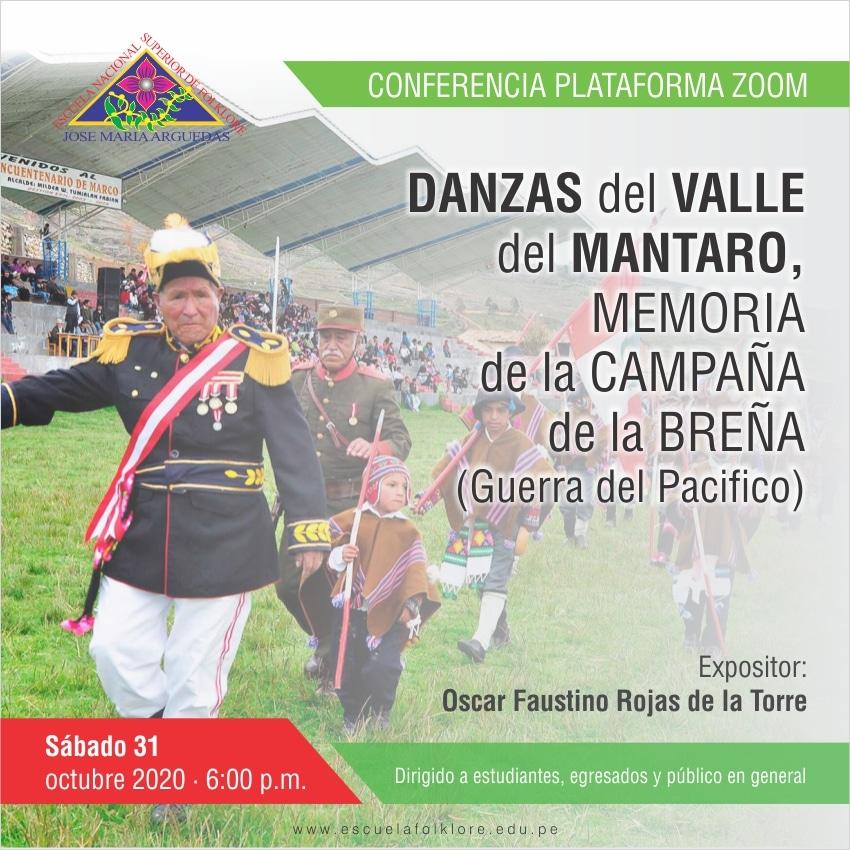 DANZAS HISTÓRICAS DEL VALLES DEL MANTARO