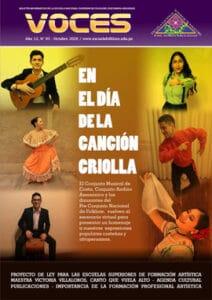 Book Cover: Voces - Año 12 / Nº 93 - Octubre