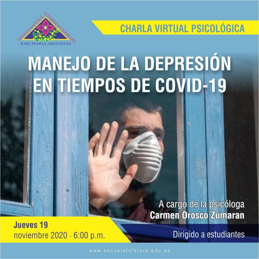 MANEJO DE LA DEPRESIÓN EN TIEMPOS DE COVID-19