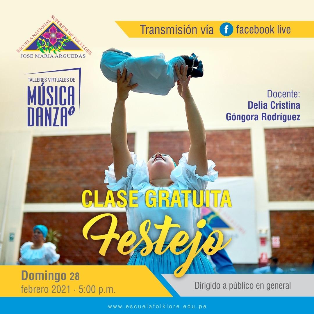 CLASE GRATUITA DE FESTEJO
