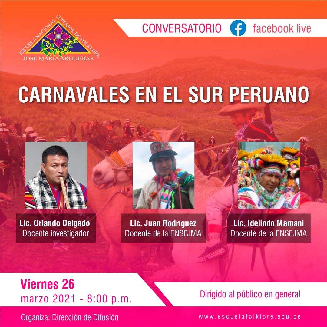 CARNAVALES EN EL SUR PERUANO