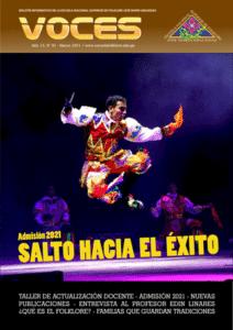 Book Cover: Voces - Año 13 / Nº 95 - Marzo
