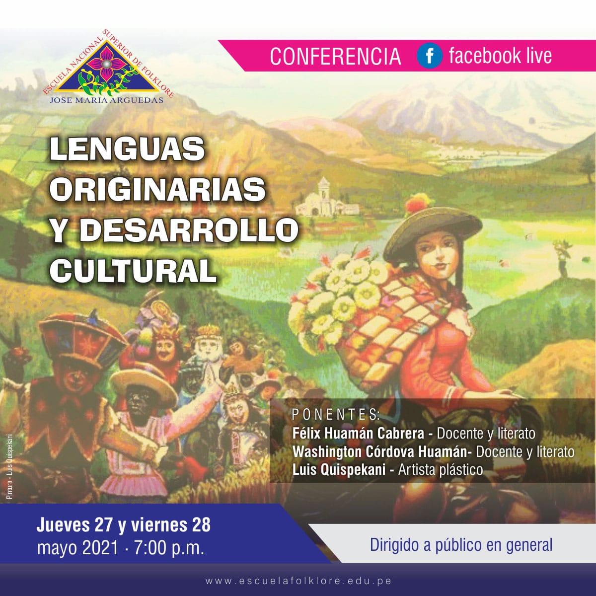 CONVERSATORIO SOBRE NUESTRAS LENGUAS ORIGINARIAS