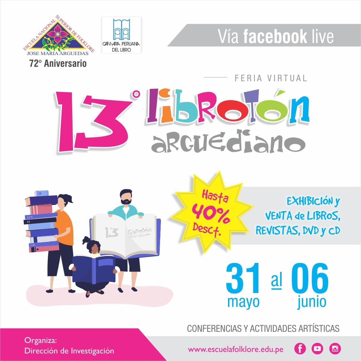 ESCUELA DE FOLKLORE PRESENTARÁ EL 13° LIBROTÓN ARGUEDIANO