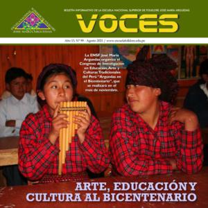 Book Cover: Voces - Año 13 / Nº 99 - Agosto